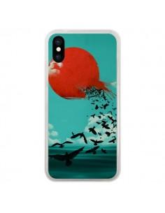 Coque Soleil Oiseaux Mer pour iPhone X - Jay Fleck