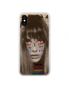 Coque Jane Azteque pour iPhone X - Kris Tate