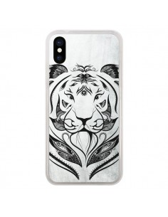 Coque Tattoo Tiger Tigre pour iPhone X - LouJah