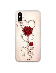 Coque Key of Love Clef Amour pour iPhone X - LouJah