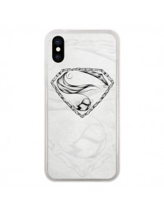 Coque Super Feather Plume Heroe Heros pour iPhone X - LouJah