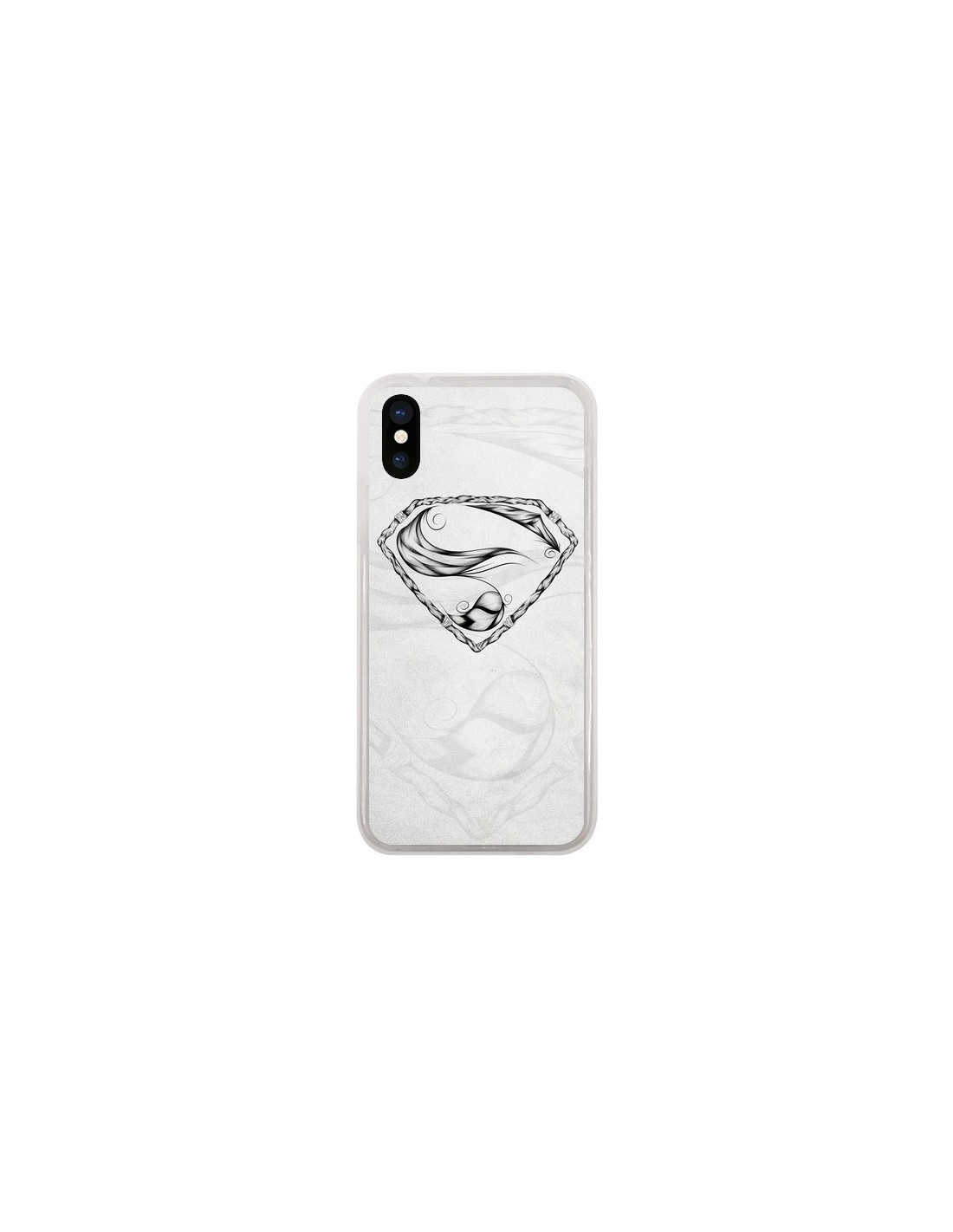 coque iphone x feather