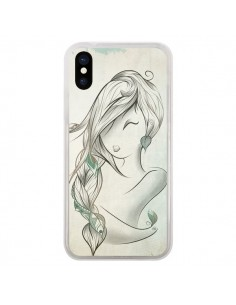 Coque Downwind Fille Vent Wind pour iPhone X - LouJah