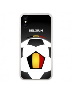 Coque Belgique Ballon Football pour iPhone X - Madotta