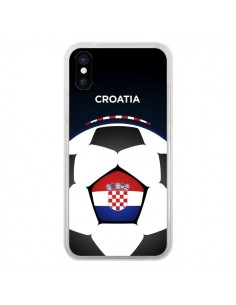 Coque Croatie Ballon Football pour iPhone X - Madotta