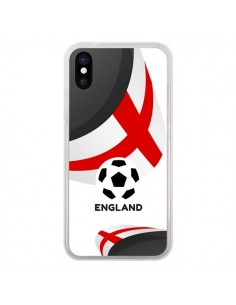 Coque Equipe Angleterre Football pour iPhone X - Madotta