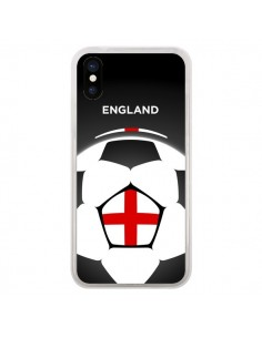 Coque Angleterre Ballon Football pour iPhone X - Madotta