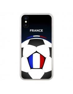 Coque France Ballon Football pour iPhone X - Madotta