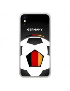 Coque Allemagne Ballon Football pour iPhone X - Madotta