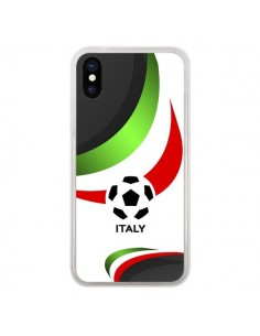 Coque Equipe Italie Football pour iPhone X - Madotta