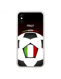 Coque Italie Ballon Football pour iPhone X - Madotta