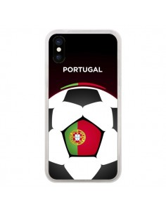 Coque Portugal Ballon Football pour iPhone X - Madotta