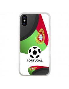 Coque Equipe Portugal Football pour iPhone X - Madotta