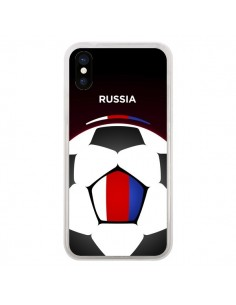Coque Russie Ballon Football pour iPhone X - Madotta