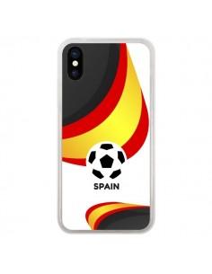 Coque Equipe Espagne Football pour iPhone X - Madotta