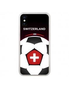 Coque Suisse Ballon Football pour iPhone X - Madotta