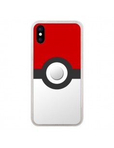 Coque iPhone X et XS Pokemon Pokeball - Nico