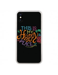 Coque This is my Happy Place pour iPhone X - Rachel Caldwell