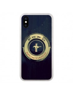 Coque Ford Mustang Voiture pour iPhone X - R Delean