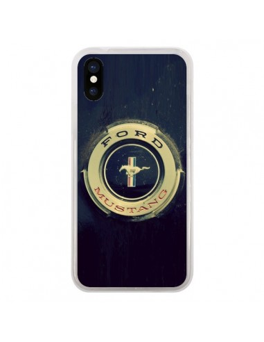 coque iphone x ford mustang
