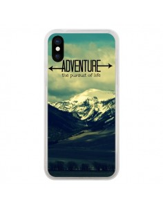 Coque Adventure the pursuit of life Montagnes Ski Paysage pour iPhone X - R Delean