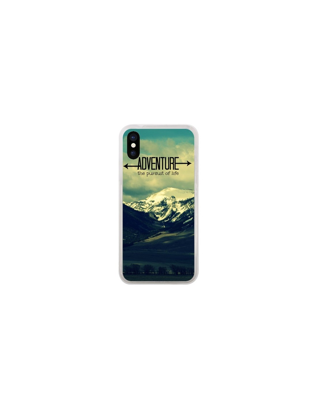 coque iphone 5 montagne