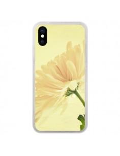 Coque Fleurs pour iPhone X - R Delean