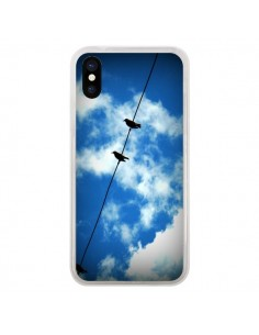 Coque Oiseau Birds pour iPhone X - R Delean