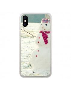 Coque Bonhomme de Neige pour iPhone X - R Delean