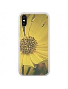 Coque Tournesol Fleur pour iPhone X - R Delean