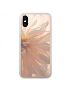 Coque Fleurs Rose pour iPhone X - R Delean