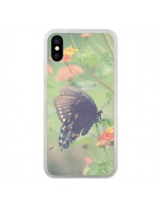 Coque Papillon Butterfly pour iPhone X - R Delean