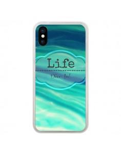 Coque Life pour iPhone X - R Delean