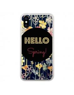 Coque Hello Spring pour iPhone X - R Delean