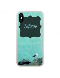 Coque Infinite Oiseau Bird pour iPhone X - R Delean
