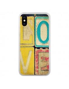 Coque Love Amour Jeu pour iPhone X - R Delean