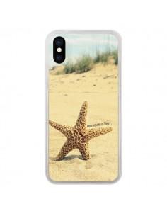 Coque Etoile de Mer Plage Beach Summer Ete pour iPhone X - R Delean