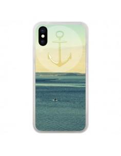 Coque Ancre Navire Bateau Summer Beach Plage pour iPhone X - R Delean