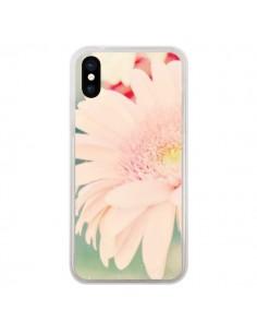 Coque Fleurs Roses magnifique pour iPhone X - R Delean