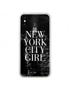Coque iPhone X et XS New York City Girl - Rex Lambo