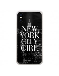 Coque New York City Girl pour iPhone X - Rex Lambo