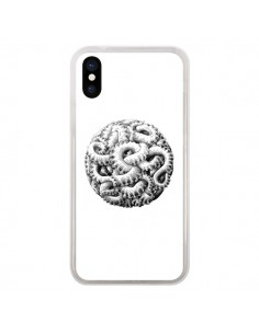 Coque iPhone X et XS Boule Tentacule Octopus Poulpe - Senor Octopus