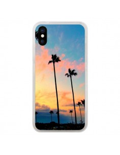 Coque California Californie USA Palmiers pour iPhone X - Tara Yarte