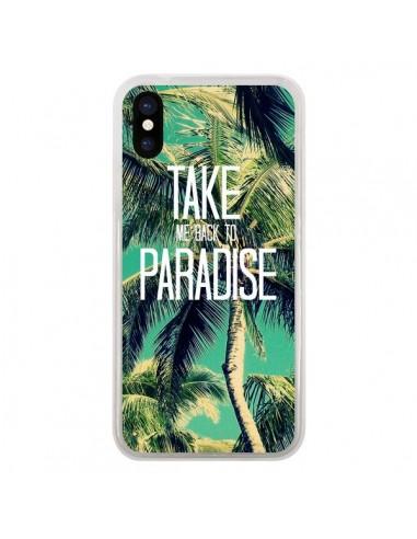 coque iphone x palmier