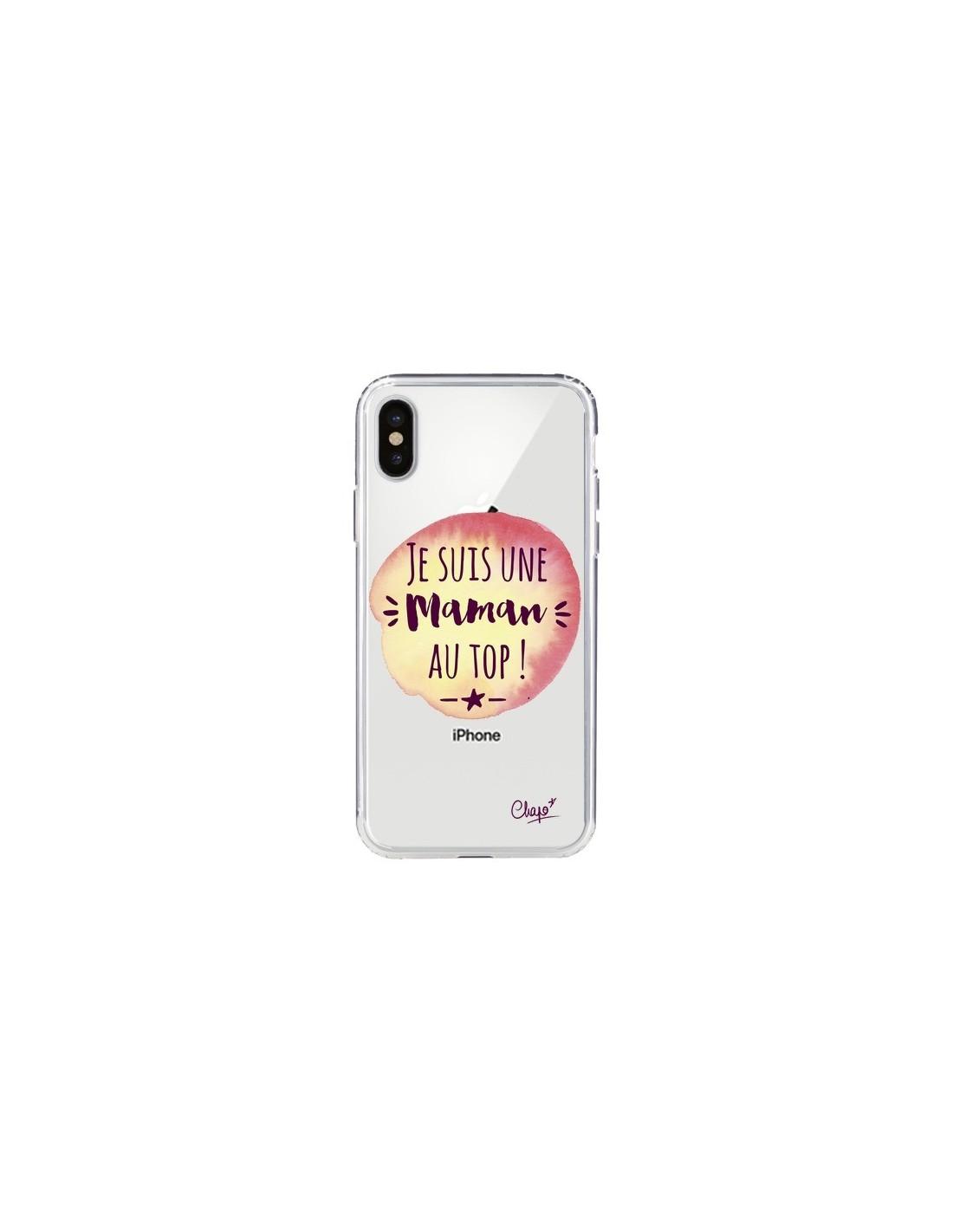 coque iphone x maman