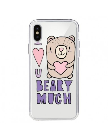 coque iphone x nounours
