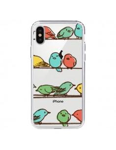 Coque Oiseaux Birds Transparente pour iPhone X - Eric Fan