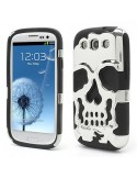Coque Squelette Tête de Mort Miroir pour Samsung Galaxy S3