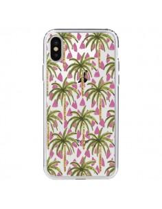 Coque Palmier Palmtree Transparente pour iPhone X - Dricia Do