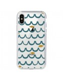 Coque Poisson Fish Water Transparente pour iPhone X - Dricia Do